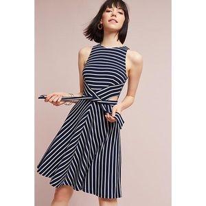 Hutch Kinsley Striped Cutout Dress